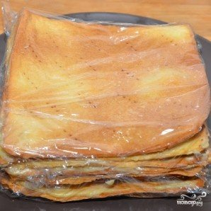 Торт Наполеон по госту - фото шаг 11