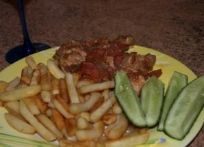 Телятина, жареная на сковороде - фото шаг 7