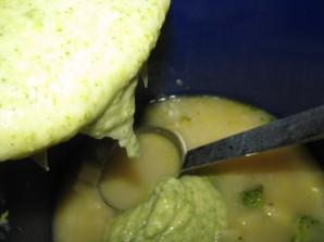 Суп с брокколи и сыром - фото шаг 6