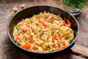 Жареный рис по-китайски - фото шаг 7