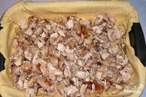 Слоеный пирог с курицей и картошкой - фото шаг 9