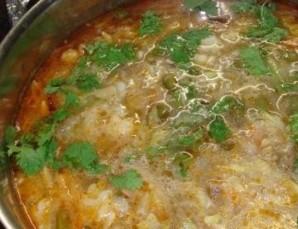 Овощной суп с грибами   - фото шаг 6