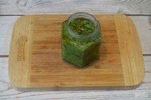Зеленая аджика с грецкими орехами - фото шаг 8