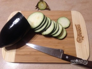 Баклажанно-картофельный мильфей - фото шаг 1