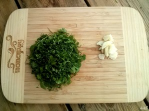 Оладьи из кабачков с сыром и чесноком - фото шаг 3