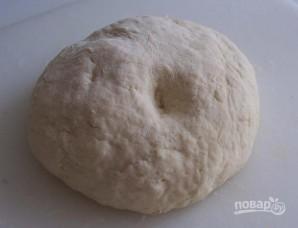 Тесто на хычины - фото шаг 2