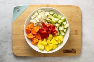 Овощное рагу с нутом - фото шаг 2
