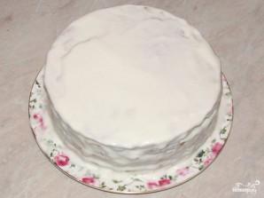 Торт с сметанным кремом - фото шаг 6
