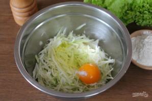 Оладьи из кабачков и капусты - фото шаг 4