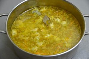 Суп с чесночными клецками - фото шаг 13