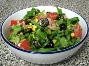 Новогодний салат с тунцом консервированным - фото шаг 4