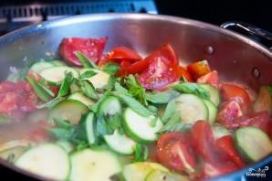 Цуккини с помидорами - фото шаг 7
