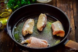 Крученики из куриного филе - фото шаг 5