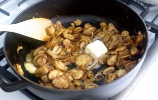Грибы, запеченные с макаронами - фото шаг 3