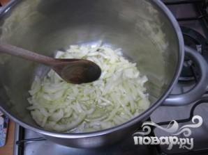 Суп с помидорами, кабачками и луком - фото шаг 2