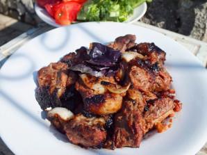 Шашлык из говядины в соевом соусе - фото шаг 7