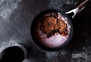 Шоколадный ганаш на красном вине - фото шаг 1
