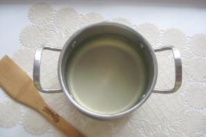 Суп с креветками и лапшой - фото шаг 4