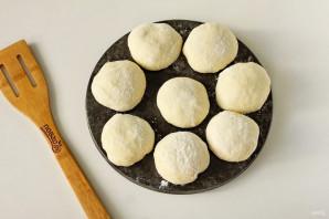 Беляши с картошкой на сковороде - фото шаг 9