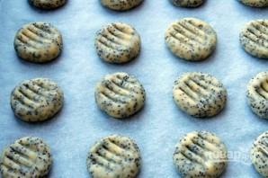 Песочное печенье с маком - фото шаг 4