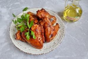 Куриные крылышки барбекю в духовке - фото шаг 7