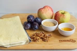 Яблоки, фаршированные карамелизированной сливой - фото шаг 1