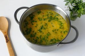 Суп с творожными клецками - фото шаг 9