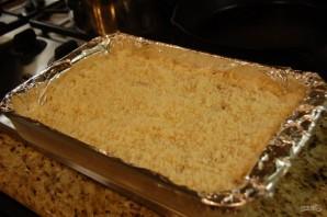 Песочный пирог с джемом - фото шаг 4