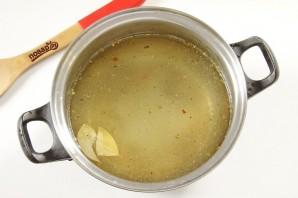 Овсяный суп с грибами - фото шаг 2