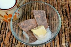 Фруктовый салат с шоколадом - фото шаг 3