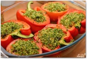 Фаршированные перцы и помидоры - фото шаг 16