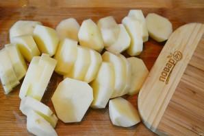 Запеченное филе тилапии на картофельной подушке - фото шаг 1