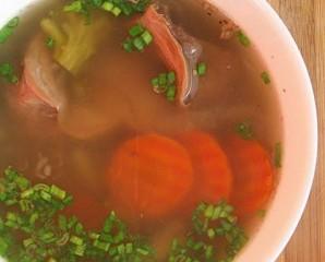Суп из желудков индейки в мультиварке - фото шаг 6