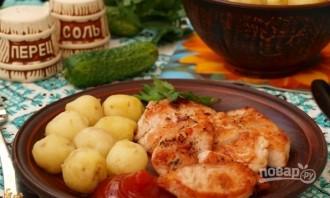 Мясо индейки, жареное на сковороде - фото шаг 5