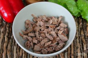 Будапештский салат с говядиной - фото шаг 3