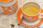 Зеленый чай с апельсином