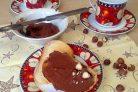 Орехово-шоколадная паста со сливками