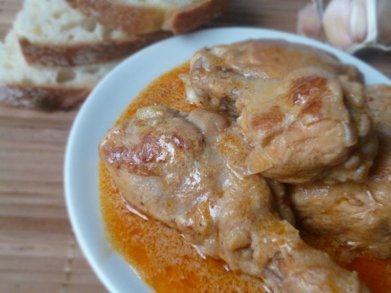 Курица со сметаной на сковороде пошаговый рецепт с фото — pic 5