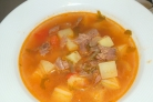Суп с картошкой и говядиной