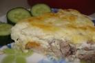 Молоки горбуши в омлете с сыром