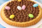 Пасхальный пирог с шоколадом