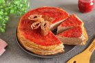 Блинный торт для диабетиков