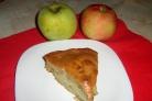 Шарлотка с яблоками без миксера