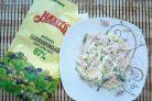 Лучший рецепт салата Фирменный с майонезом Махеевъ