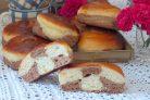 Дрожжевые булочки с какао
