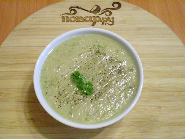 Сыроедческий суп из шампиньонов