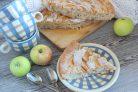 Кокосовая шарлотка с яблоками