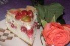 Бисквитный торт на скорую руку