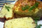 Быстрый сырный пирог