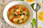 Диетический рыбный суп